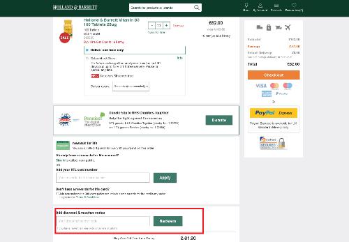 hollandandbarrett customers guide